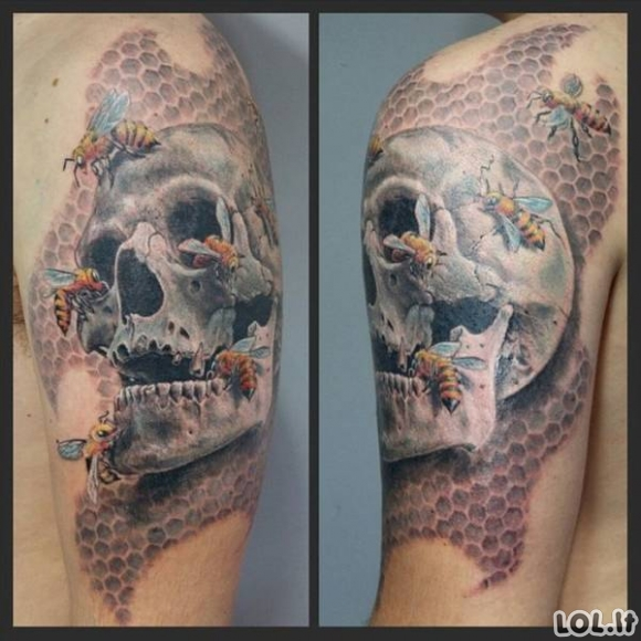 Neįtikėtinai realistiškos tatuiruotės [33 FOTO]