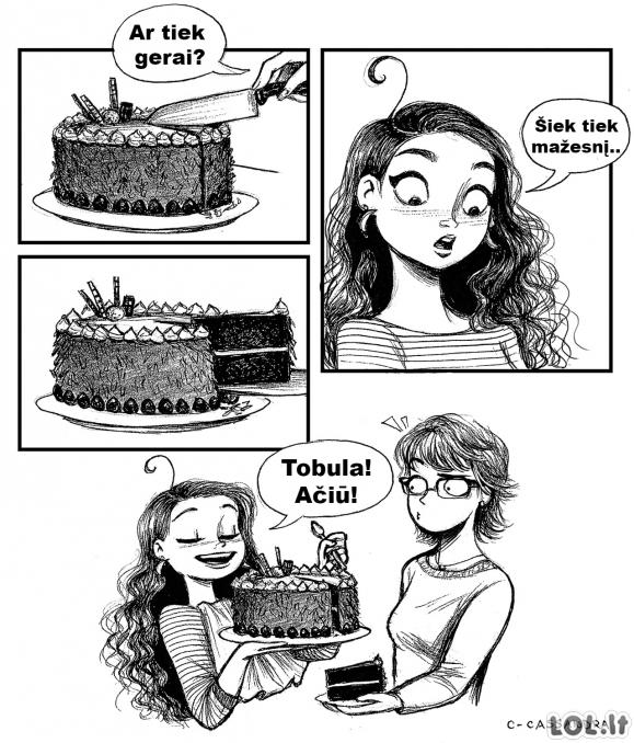 Torto gabalėlis