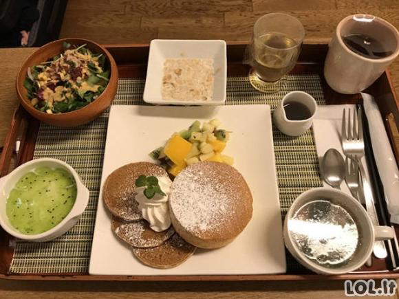 Japonijos ligoninių maistas [19 FOTO]