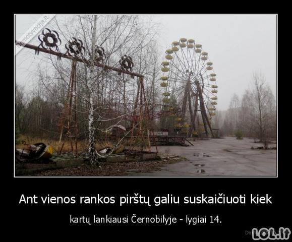 Prisiminimai iš Černobilio
