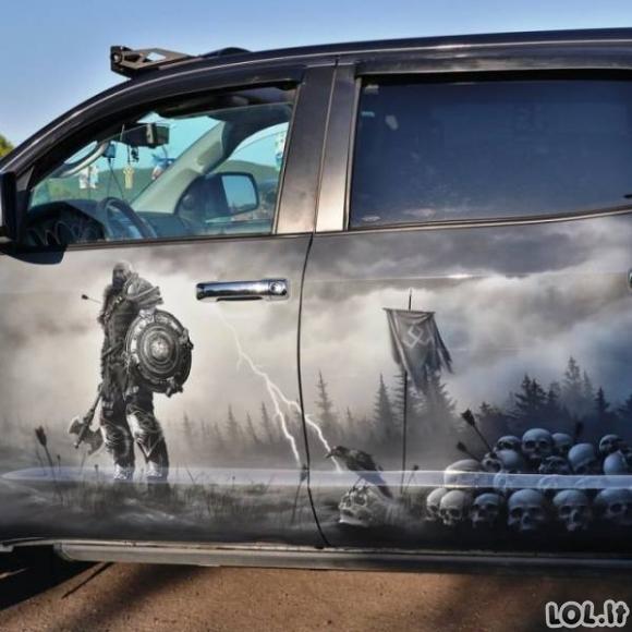 Automobiliai, kuriuos pagražino tikri menininkai [20 FOTO]