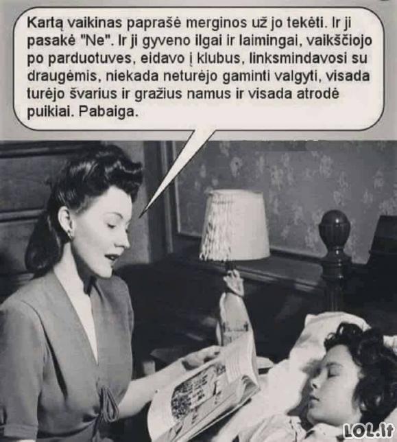 Moteriška pasaka