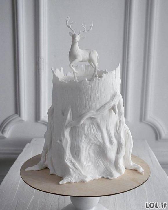 Tortai, kurie tokie šaunūs, jog gaila ir suvalgyti [34 nuotraukos]