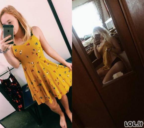 Merginos vilki vasariškas sukneles [27 nuotraukos]