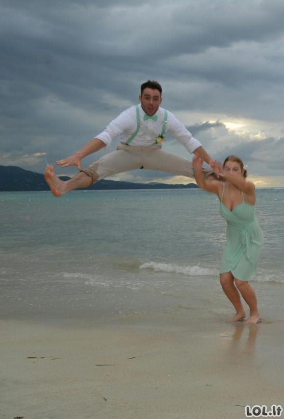 Vestuvinės nuotraukos, kurios nepateko į albumą [20 foto]