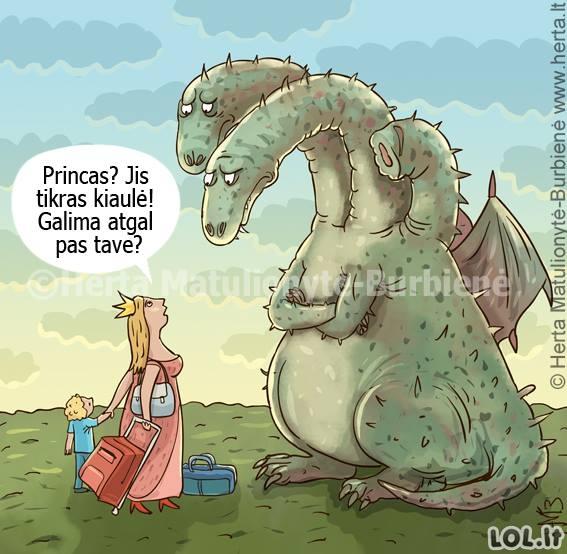 Nekoks princas buvo