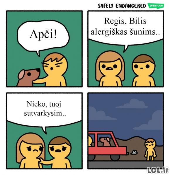 Alergija šunims