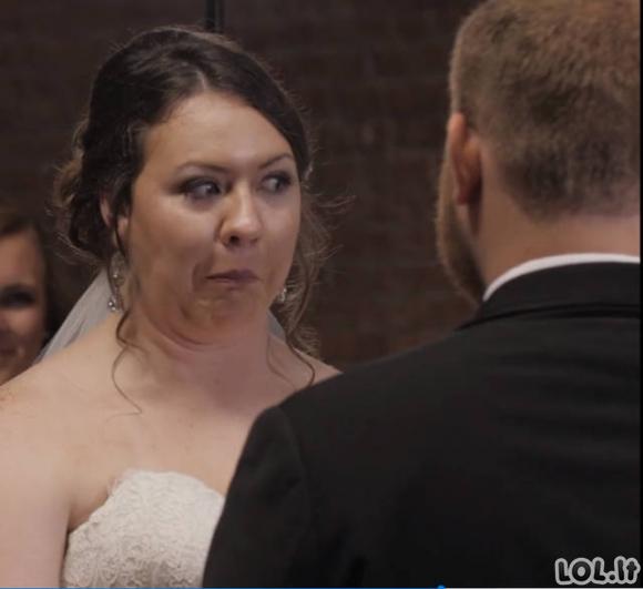 Labai neįprastų vestuvinių nuotraukų galerija [GALERIJA]