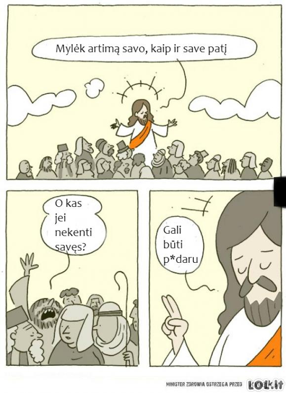 Dievo įsakymai