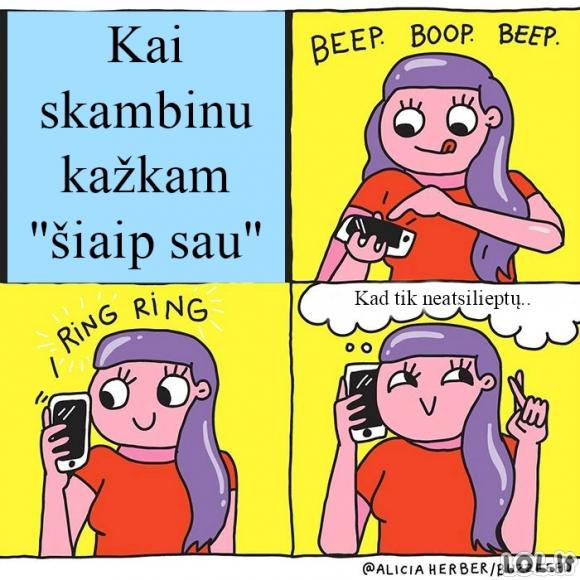 Moteriški skambučiai