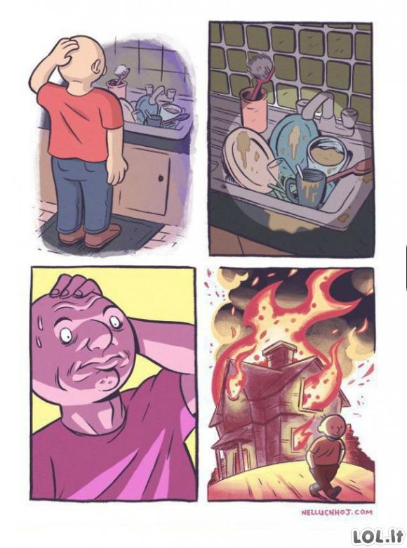 Kaip plauti indus