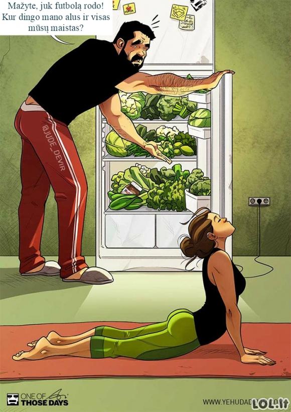 Siurprizas šaldytuve