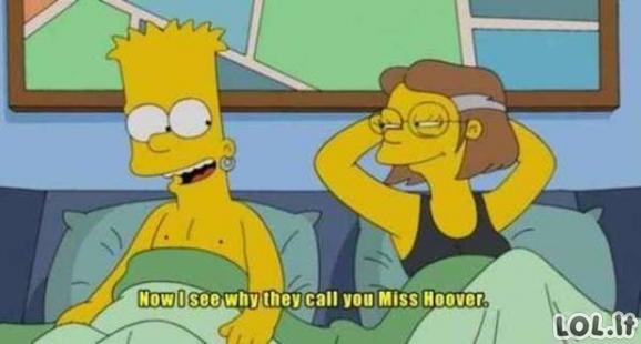 Simpsonų animaciniame filmuke pilna nešvankių momentų (18 foto, 9 gifai)