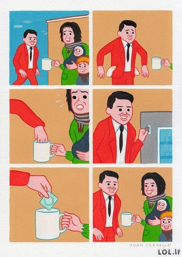 Kaip padėdi daugiavaikei šeimai