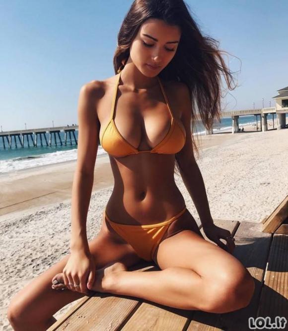 Karštos merginos bikiniuose [LABAI DIDELĖ GALERIJA]