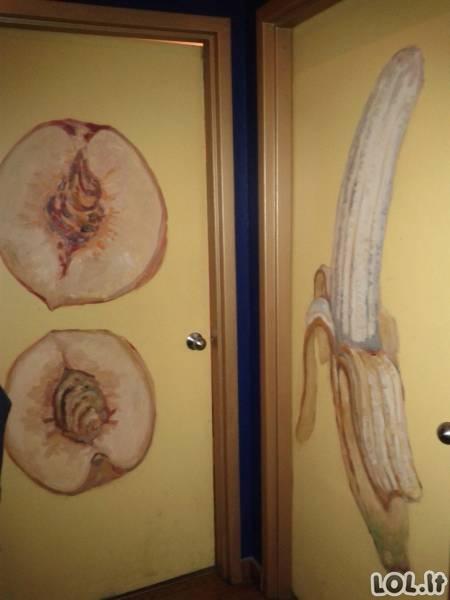 Išradingiausi tualetų pažymėjimai [28 nuotraukos]