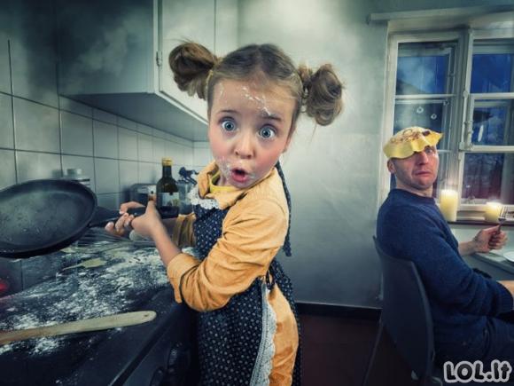 Kai tėvas tikras fotošopo meistras [20 nuotraukų]