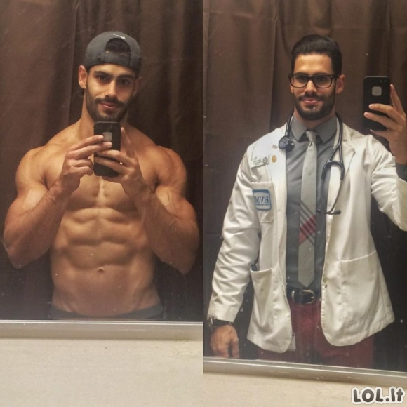Gydytojai, kuriems 100 procentų savo sveikatą patikėtų kiekviena moteris