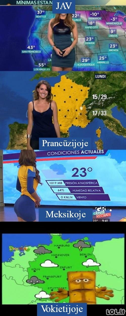 Orų prognozės