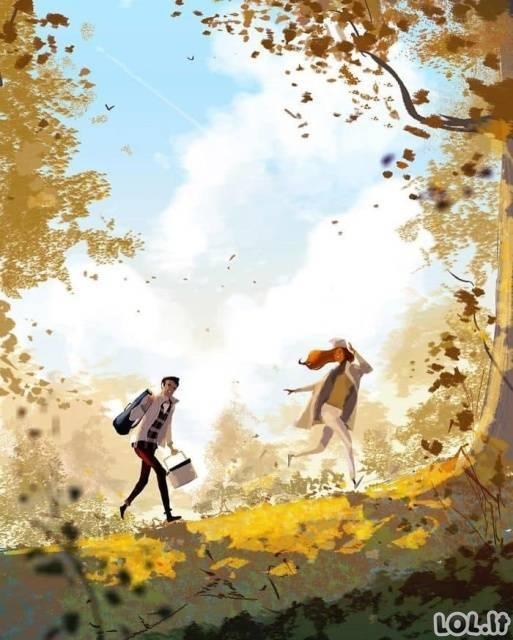 Santuoka gražiose iliustracijose [GALERIJA]