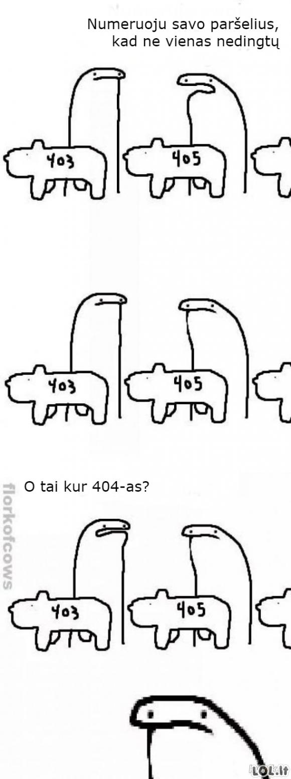 Paršeliai ir skaičiai