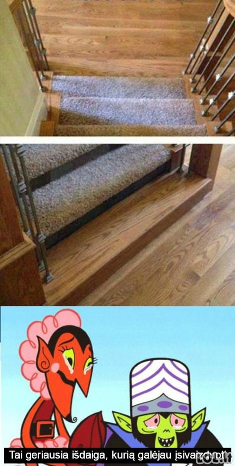Apgaulingi laiptai