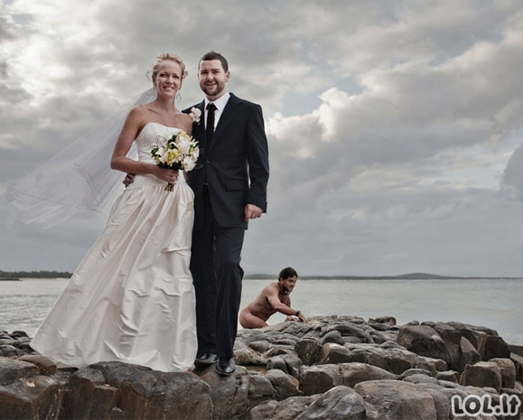 Tobulai sugadintos vestuvinės nuotraukos (36 nuotraukos)