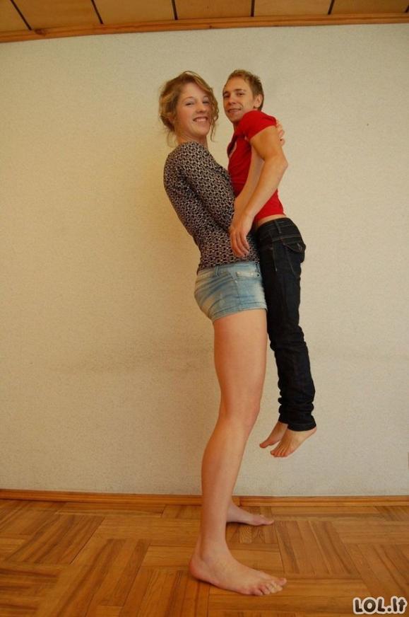 Neįtikėtinai aukštos merginos (31 nuotrauka)