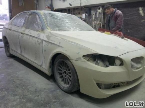 Šaunūs meistrai nerealiai perdarė BMW E39 (12 nuotraukų)