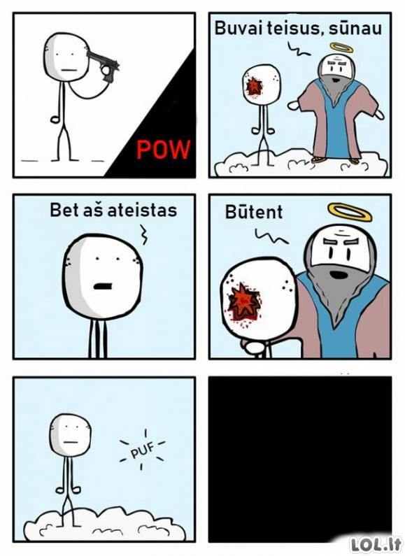 Ateistas rojuje