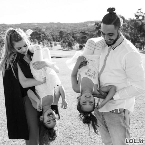 Jie laikomi gražiausia šeima instagrame