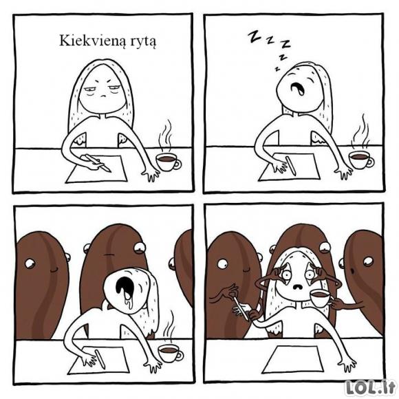 Kiekvieną rytą