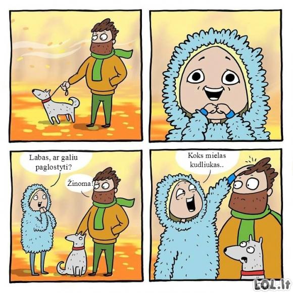Mielas kudliukas