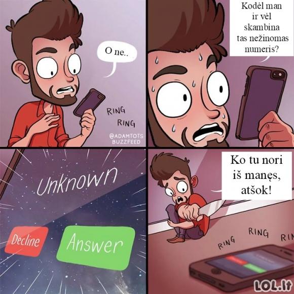 Nežinomas numeris