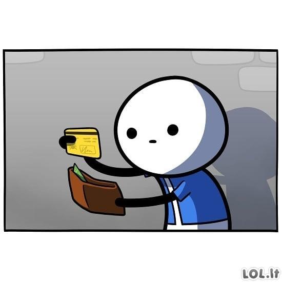 Pamesta piniginė