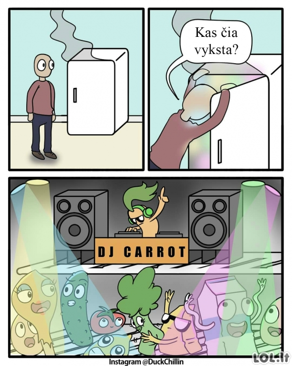 Tūsas šaldytuve