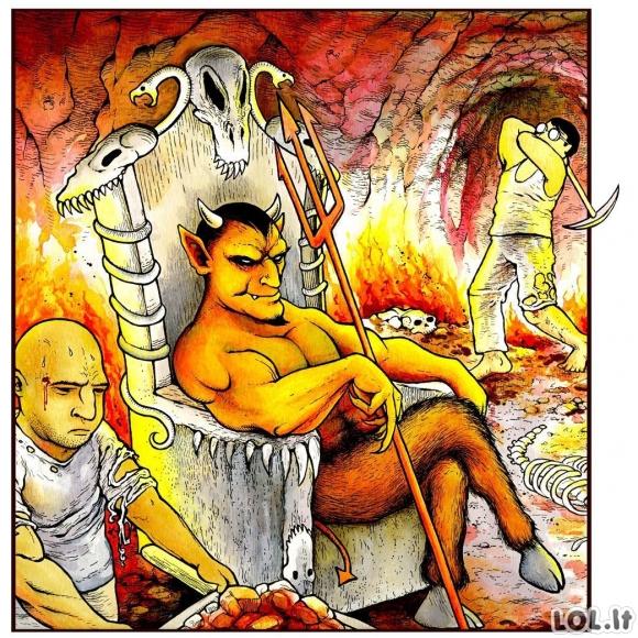 Pragare pas Šėtoną