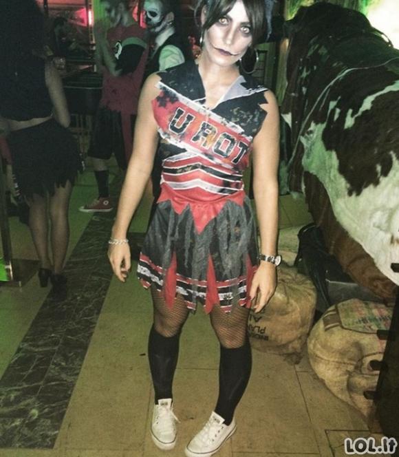 Išties labai šiurpūs Helovino kostiumai (24 foto)