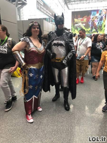 Geriausi Cosplay Comic Con Niujorke [GALERIJA]