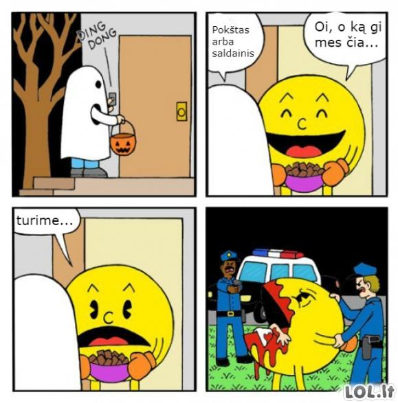 Pacmanas ir vaiduoklis