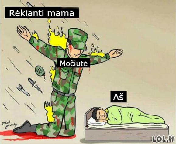 Kaip būna šeimoje