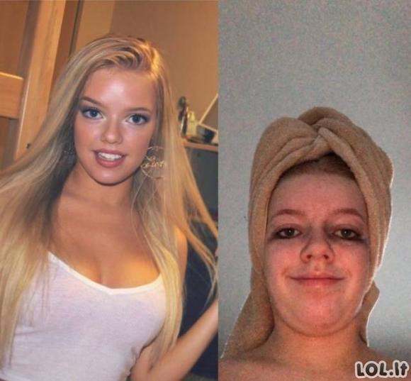 Kiekviena graži mergina turi negražų selfie [GALERIJA]