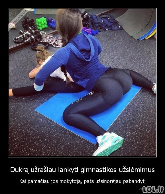 Gimnastikos užsiėmimai