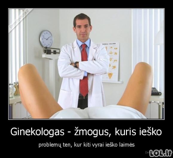 Nelengvas ginekologo darbas