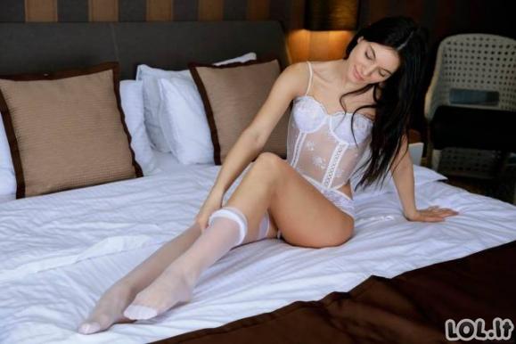 Merginos vilki seksualius apatinius (54 nuotraukos)