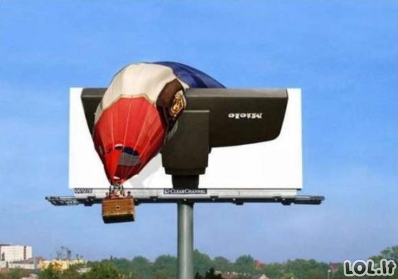 Labai išradingos lauko reklamos [GALERIJA]