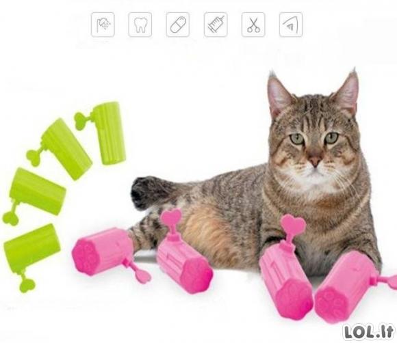 Ar tai kačių kankinimo prietaisas?