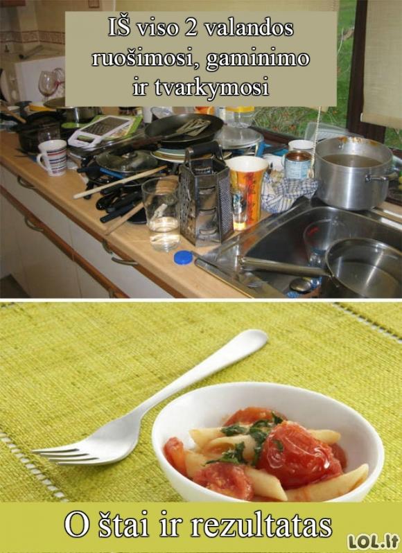 Maisto gaminimas