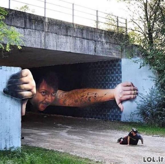 Dar kartą pasakyk, kad tai vandalizmas [GALERIJA]