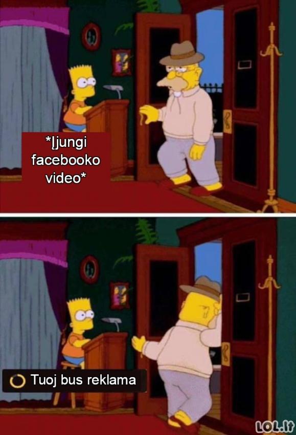 Facebooko video